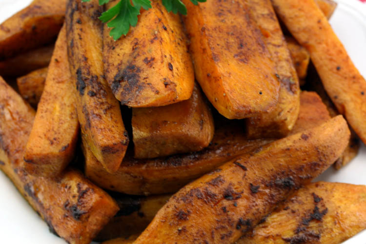 Sweet Potato Wedges Recipe — Dishmaps